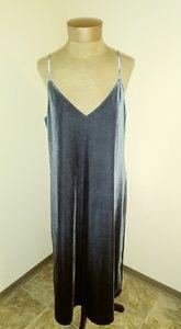 Uniqlo Velvet Slip Dress